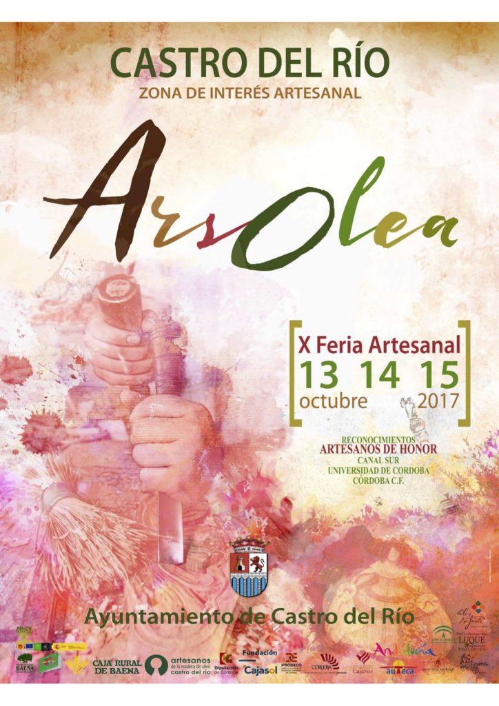cartel X edición de la feria Artesanal 'Ars Olea'